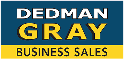 Dedman Gray Business Sales Logo
