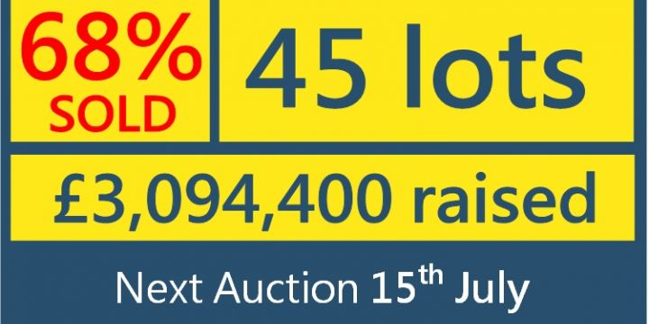 Auction Results 20th May