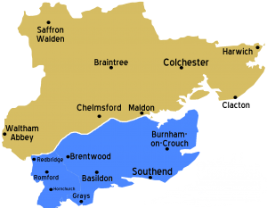 Essex_map with Havering transparent background no telephone numbers